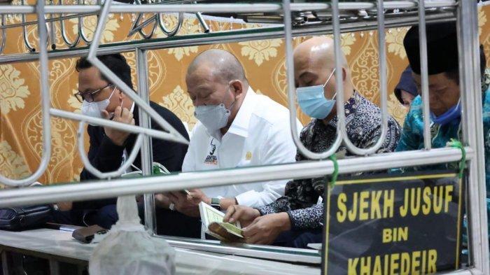 Ketua DPD RI Ziarah ke Makam Pahlawan Syekh Yusuf di Sulsel