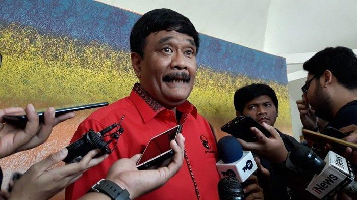 Ketua DPP Bidang Ideologi dan Kaderisasi PDI Perjuangan Djarot Saiful Hidayat di Wisma Kinasih, Tapos, Depok, Jawa Barat, Jumat (22/11/2019).