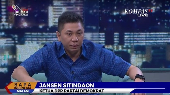 Ketua DPP Partai Demokrat, Jansen Sitindaon.