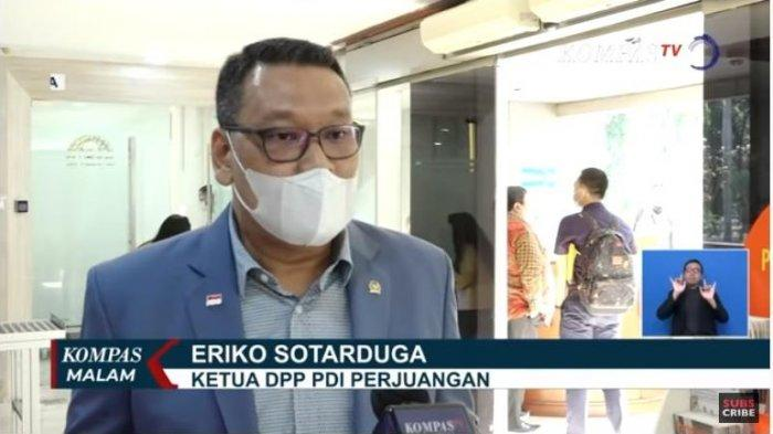 Ketua DPP PDI Perjuangan, Eriko Sotarduga menilai pembakaran bendera partai dilakukan secara sengaja dan terencana, sehingga partai memutuskan akan menempuh jalur hukum.