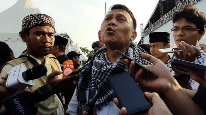 Ketua DPP PKS Mardani Ali Sera menghadiri kegiatan Reuni Akbar 212 di Monas, Jakarta Pusat, Senin (2/12/2019).
