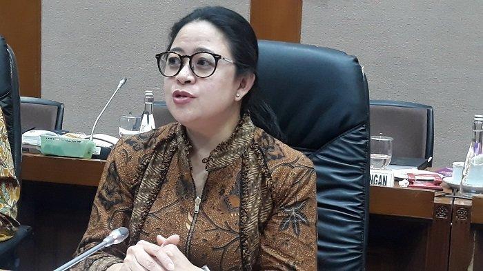 Ketua DPR Puan Maharani di Kompleks Parlemen, Senayan, Jakarta, Jumat, (18/10/2019).