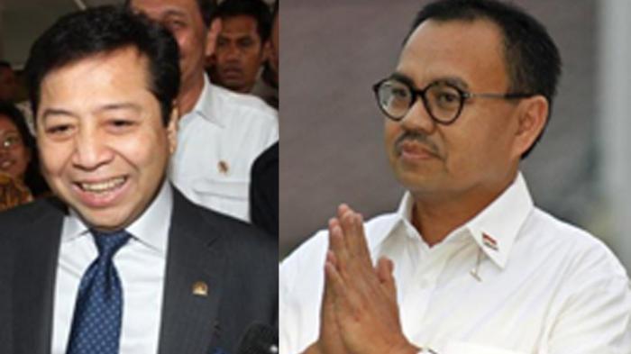 Sudirman Said Heran Setya Novanto jadi Ketua DPR Lagi
