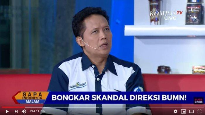 Zaenal Muttaqin, Ketua Ikatan Awak Kabin Garuda Indonesia (IKAGI) dalam Sapa Indonesia Malam Kompas TV, Jumat (6/12/2019)