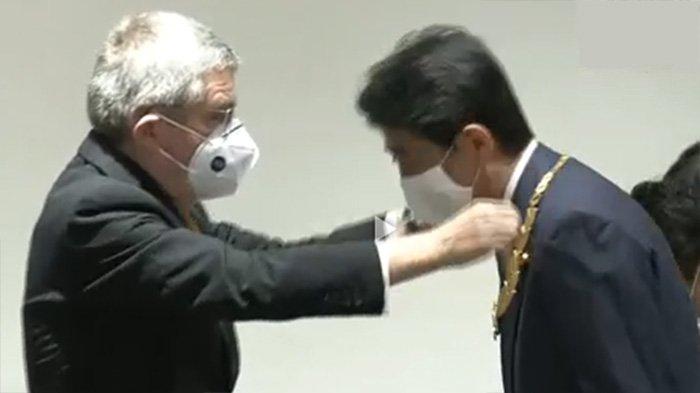Mantan PM Jepang Shinzo Abe Dianugerahi Medali Kehormatan dari IOC