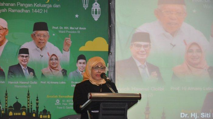 Ketua Komisi Perempuan MUI: Bentuk Ketahanan Pangan Nasional Berawaldari Keluarga