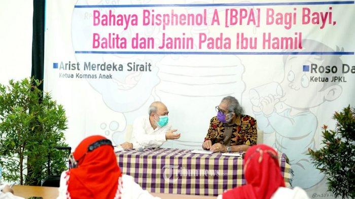 Ketua Komnas PA Arist Merdeka Sirait Imbau Emak-Emak di Seluruh Nusantara Tolak BPA