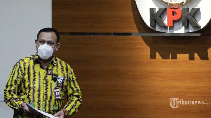 Firli Bahuri Lantik Brigjen Pol Setyo Budiyanto Sebagai Direktur Penyidikan KPK