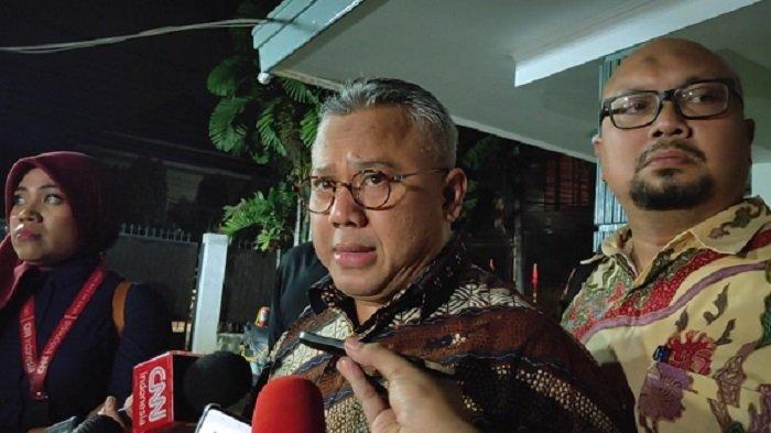 5 Komisioner KPU Menuju Kantor KPK untuk Hadiri Konferensi Pers Bersama Soal OTT Wahyu Setiawan