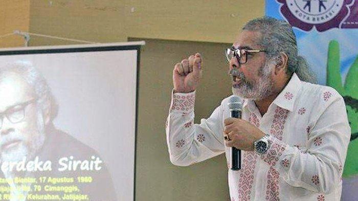 Ketua LSM Lembaga Anak Indonesia, Arist Merdeka Sirait