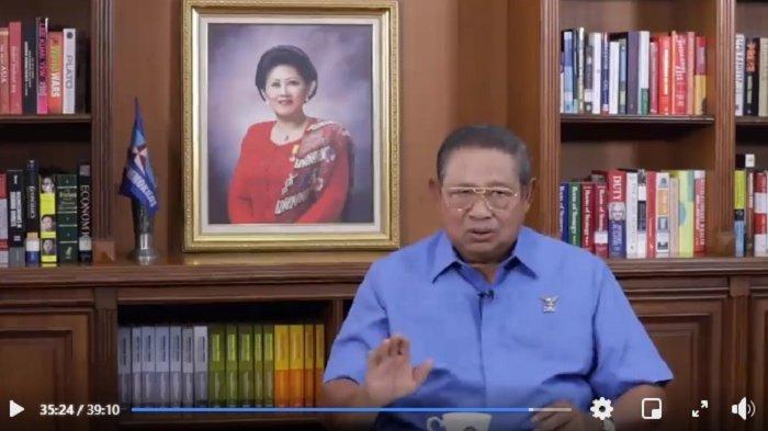 Ketua Majelis Tinggi Partai Demokrat, Susilo Bambang Yudhoyono buka suara terkait upaya kudeta di Demokrat