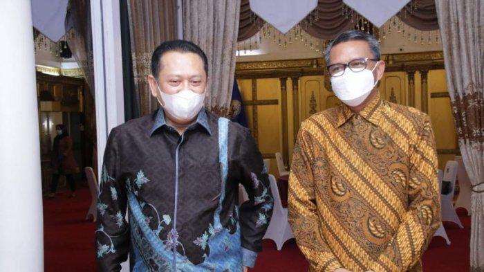 Bertemu Gubernur Sulawesi Selatan, Bamsoet Apresiasi Pertumbuhan Ekonomi Sulsel