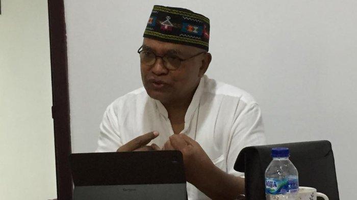 Ketua Presidium Kongres Rakyat Flores (KRF) Petrus Selestinus.