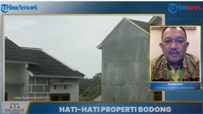 Ketua Real Estate Indonesia Jawa Tengah Suhartono Senin (14/6/2021)
