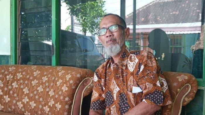 Ketua RT 01/16, Desa Cemani, Moelyadi Mulyo Kusumo saat ditemui TribunSolo.com pada Minggu (12/7/2020) pasca penangkapan terduga teroris.