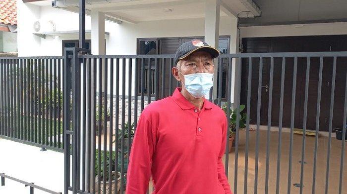Endang Suhendar, Ketua RW di lingkungan rumah almarhum Fuad Alkhar di kawasan Depok, Jawa Barat, Jumat (18/6/2021).
