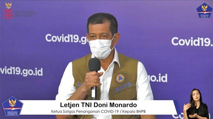 Doni Monardo: Patuh Protokol Kesehatan Belum Sebanding Perjuangan Dokter Tangani Pasien Covid-19