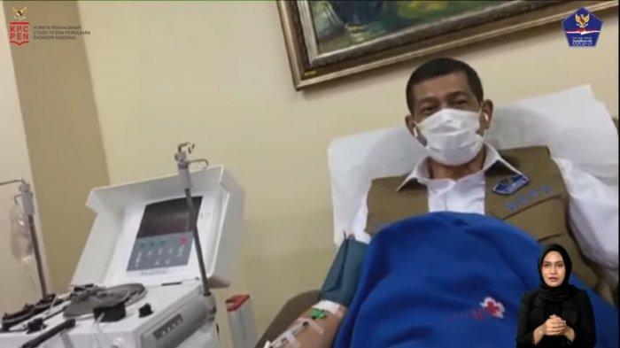 Cerita Doni Monardo Donor Plasma Konvalesen, Aman dan Tidak Ada Efek Samping