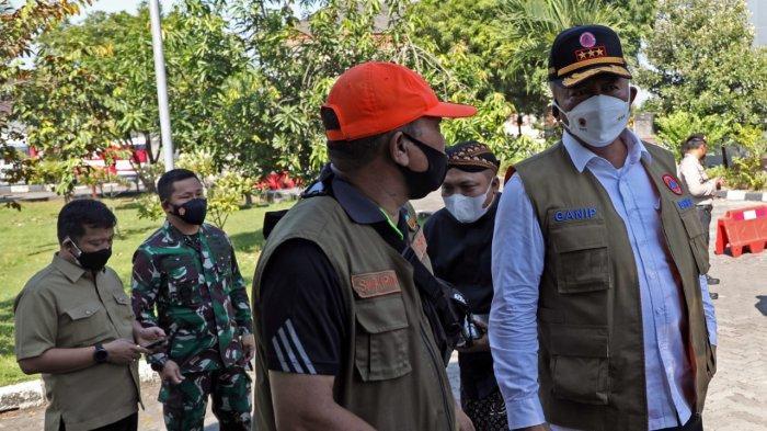 Ketua Satgas dan Panglima TNI Tinjau Lokasi Isoman Terpusat Asrama Haji Donohudan