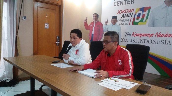 Agenda Sepekan Kampanye Terbuka Jokowi-Ma'ruf Amin, Banten Jadi Tujuan Awal