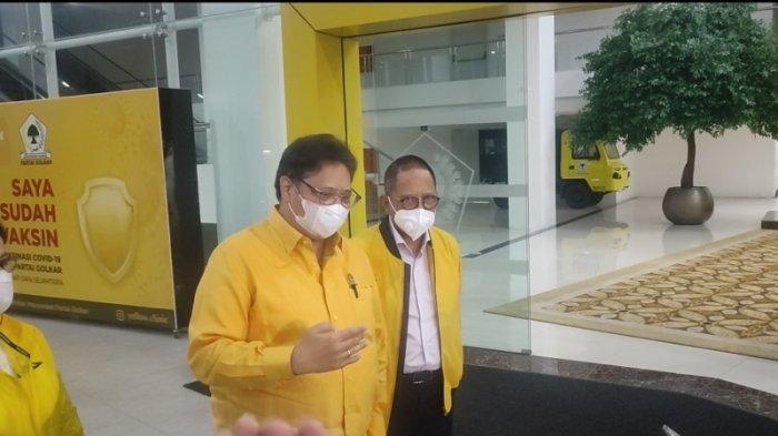 Tak Jadi Besok, Ketua Umum Golkar Airlangga Bakal Serahkan Nama Pengganti Azis Syamsuddin Rabu