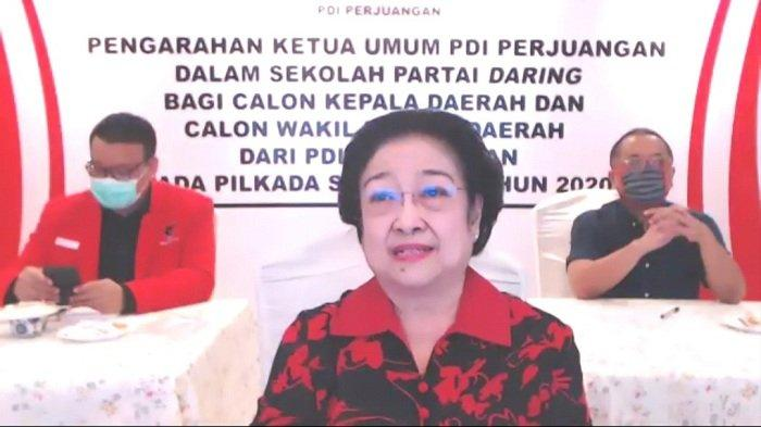 Ketua Umum DPP PDI Perjuangan Megawati Soekarnoputri.