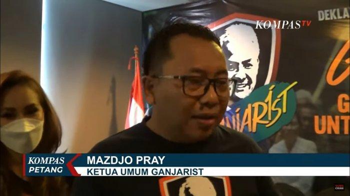 Ketua Umum Ganjarist, Mazdjo Pray gg