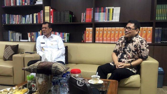 Ketua Umum KCI Dharma Oratmangun Temui Letjend Doni Monardo Bicarakan Kerjasama Dibidang Musik