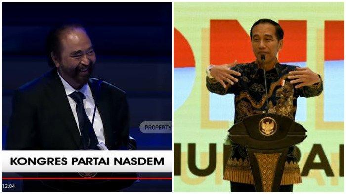 Surya Paloh Akhirnya Sentil Balik Presiden Jokowi: Ingin Saya Peluk Lebih Erat tapi Tidak Bisa