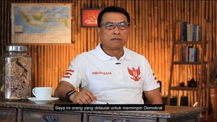 Ketua Umum Partai Demokrat Versi KLB Deli Serdang, Moeldoko.