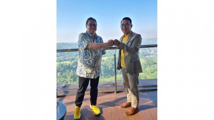 Airlangga dan Kang Emil Bertemu, Bahas 2024? Ini Kata Ace Hasan