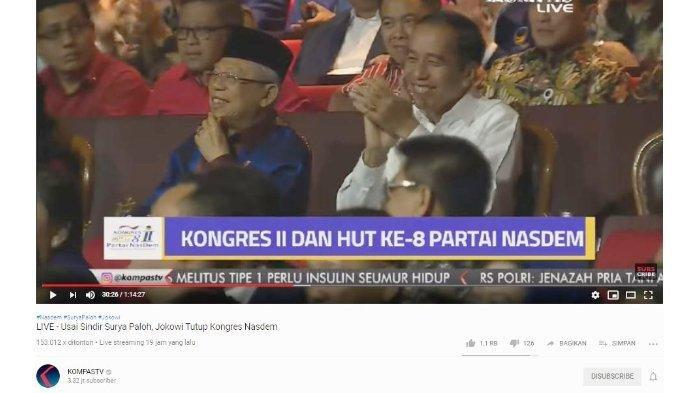 Dengar Surya Paloh Ungkap Ingin Peluk Dirinya namun Tak Bisa, Jokowi Tertawa Keras