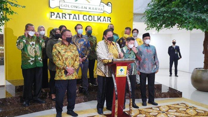 Politik Nasi Jeruk Ala Airlangga Hartarto dan Suharso Monoarfa