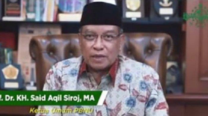 Ketua Umum PBNU Said Aqil Siroj Harap NU dan PDIP Terus Solid Jaga NKRI