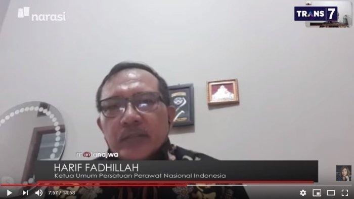 Ketua Umum Persatuan Perawat Nasional Indonesia, Harif Fadhilah mengatakan bahwa ada sejumlah perawat yang sudah mulai menyerah merawat para pasien Virus Corona.