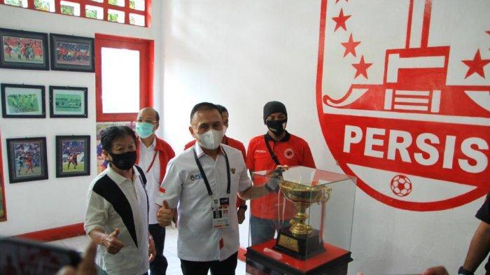 Perayaan HUT PSSI ke-91 di Balai Persis Solo, Ini Harapan Iwan Bule untuk Monumen Soeratin