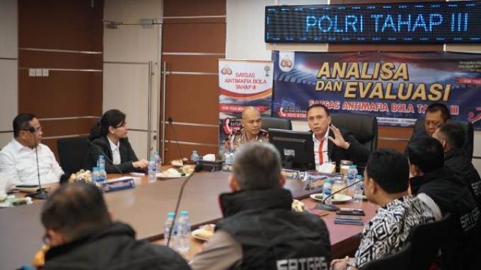 Ketum PSSI Minta Satgas Antimafia Bola Jalani Arahan Presiden