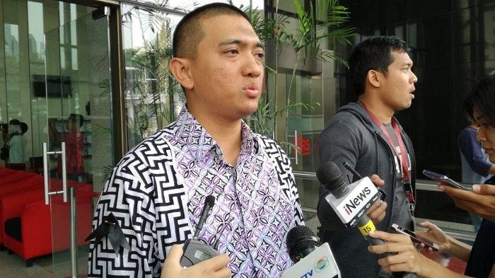 Ketua WP KPK Yudi Purnomo di Gedung Merah Putih KPK, Jakarta, Rabu (16/10/2019).