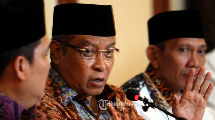 Ketua Umum PBNU Said Aqil Mengaku Banyak Difitnah