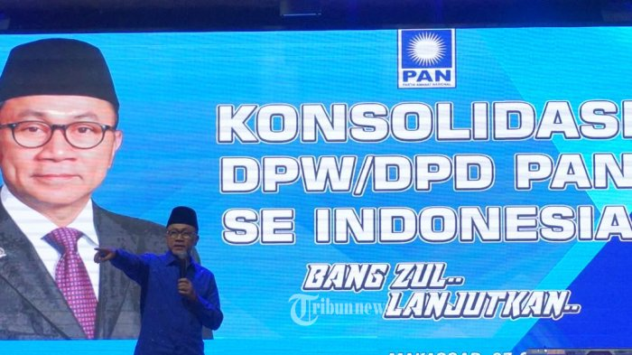 Zulkifli Hasan Jadi Ketua Umum PAN, Analis Politik: Bukan Tidak Mungkin Arah Politik PAN Berubah