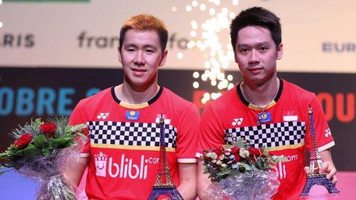 Julukan Baru Marcus/Kevin Setelah Berhasil Raih Juara di French Open 2019