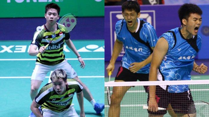 Kevin Sanjaya/Marcus Gideon dan Chen Hung Ling/Wang Chi Lin