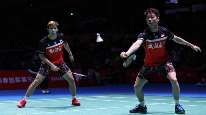 Fuzhou China Open 2019 - Marcus/Kevin Sanjaya Ungkap Strategi Lumpuhkan Kamura/Sonoda