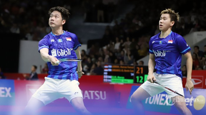 Highlights Perjuangan Marcus/Kevin di Final All England 2020 Lawan Endo/Watanabe
