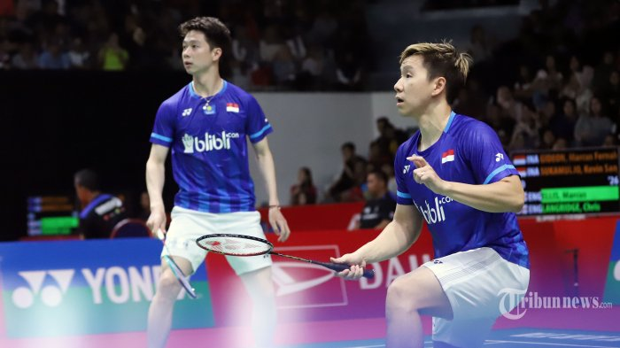Jadwal Piala Thomas 2021 Hari Ini Indonesia vs China Taipei, Tanpa Minions & Pasangan Baru Ahsan