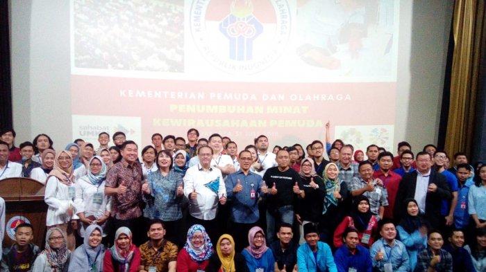 Kemenpora Pertajam Pelatihan Penumbuhan Minat Kewirausahaan di Kalangan Pemuda