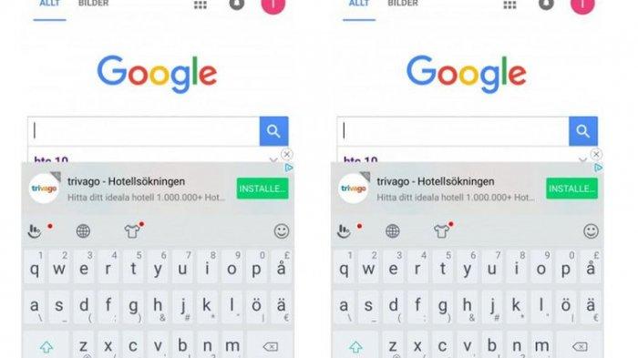 Pengguna HTC Marah Gara-gara Pas Ngetik di Keyboard Muncul Iklan