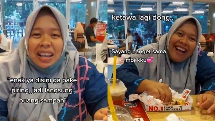 Viral Wanita Traktir ART yang Belum Pernah Makan di KFC, Senang Videonya Dapat Respons Positif