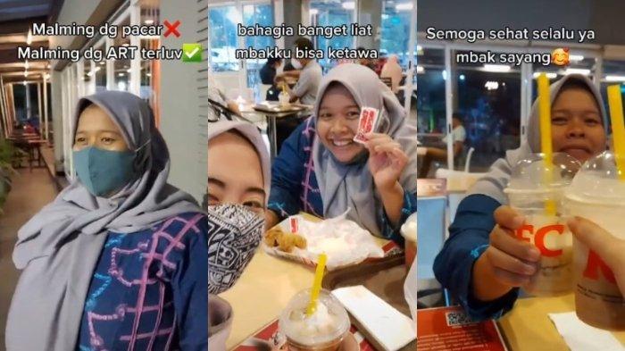 Video Traktir Makan di KFC Viral, Wanita Ini Cerita Kedekatannya dengan sang ART dan Ungkap Sosoknya