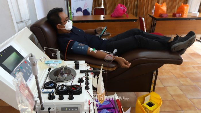 Bahagianya Johan Ketika Pasien yang Menerima Plasma Konvalesen Selamat dan ke Luar dari Masa Kritis